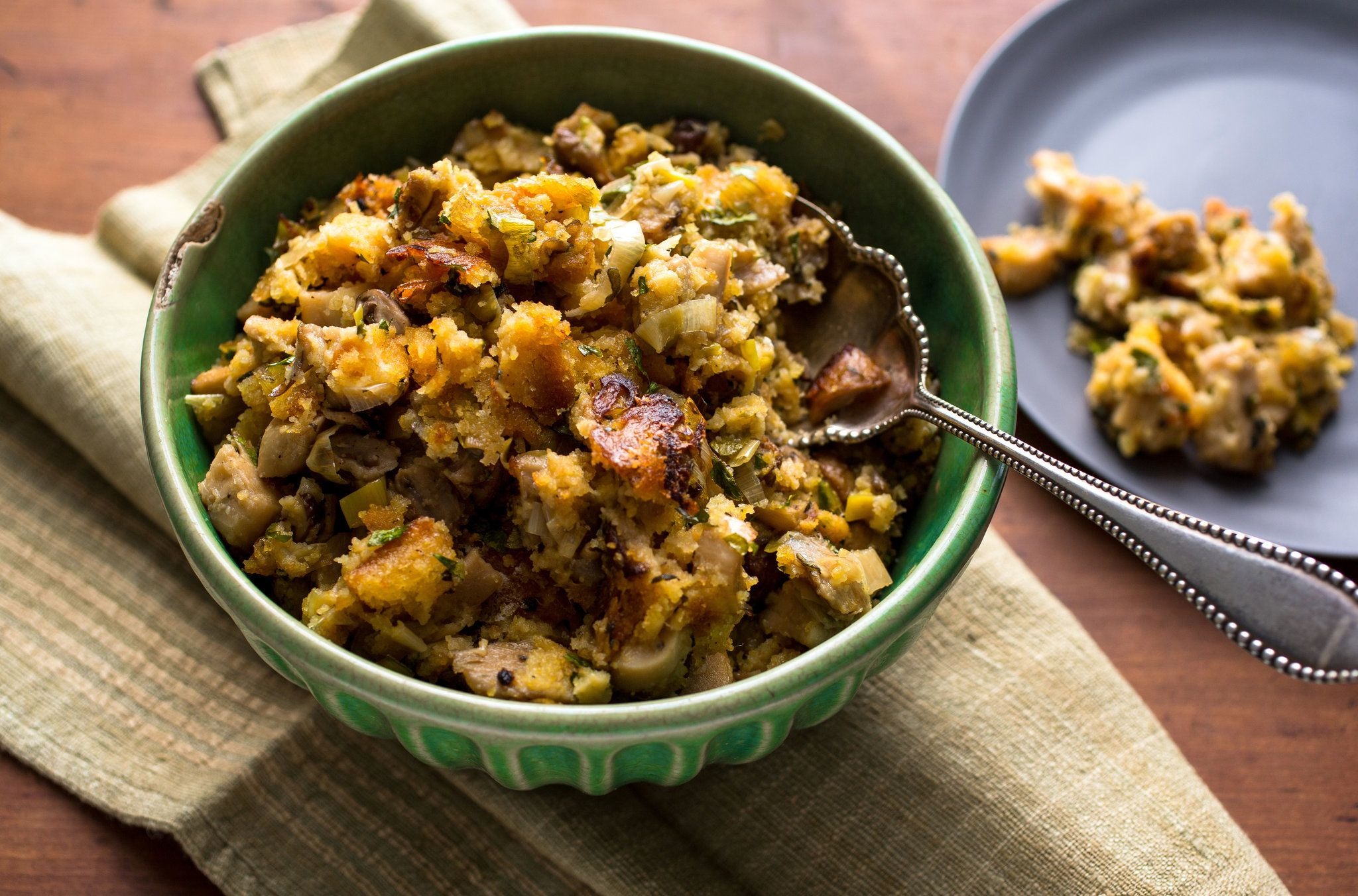 Stuffing With Mushrooms, Leeks and Bacon | Recipe ...