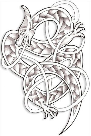 unimax tattoo supply | dragons | Celtic dragon tattoos, Celtic ...