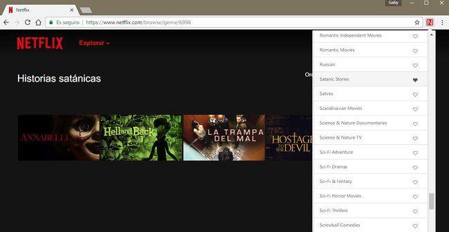 Ya tenemos una extensión de Chrome para acceder a todas esas categorías secretas de Netflix http://bit.ly/2laIeNN http://bit.ly/2lfoogZ #CPMX8 Quiriarte.com