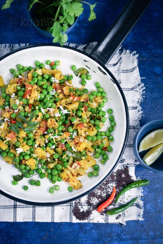 Mattar Bhurji {Scrambled Sweet Peas} | @KiranTarun http://kirantarun.com/food