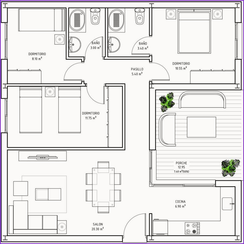 Awesome House Plans Under 100k To Build Square House Plans Square House Floor Plans Home Design Floor Plans