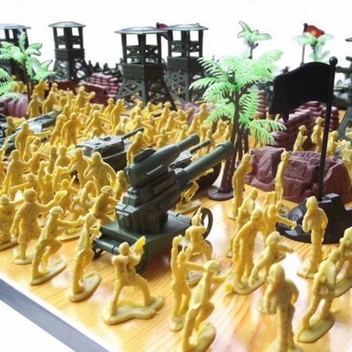 Chbr03 300pcs Military Toy Soldiers Army Men Figures Accessories Playset New Toy Soldiers Army Men Playset