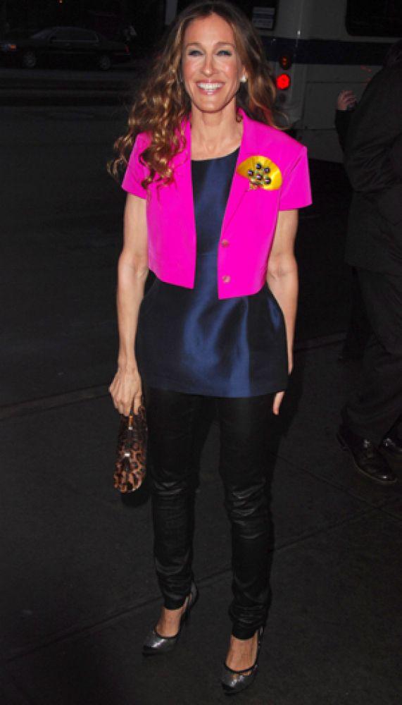 color pop Sarah Jessica Parker