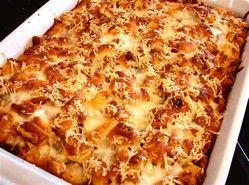 Chicken Parmesan Casserole HOLY CRAP! #chickenparmesan