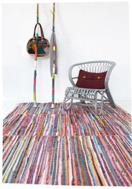 Grand tapis Multicolore - 170x240cm Storebror - Tapis Industriel ...