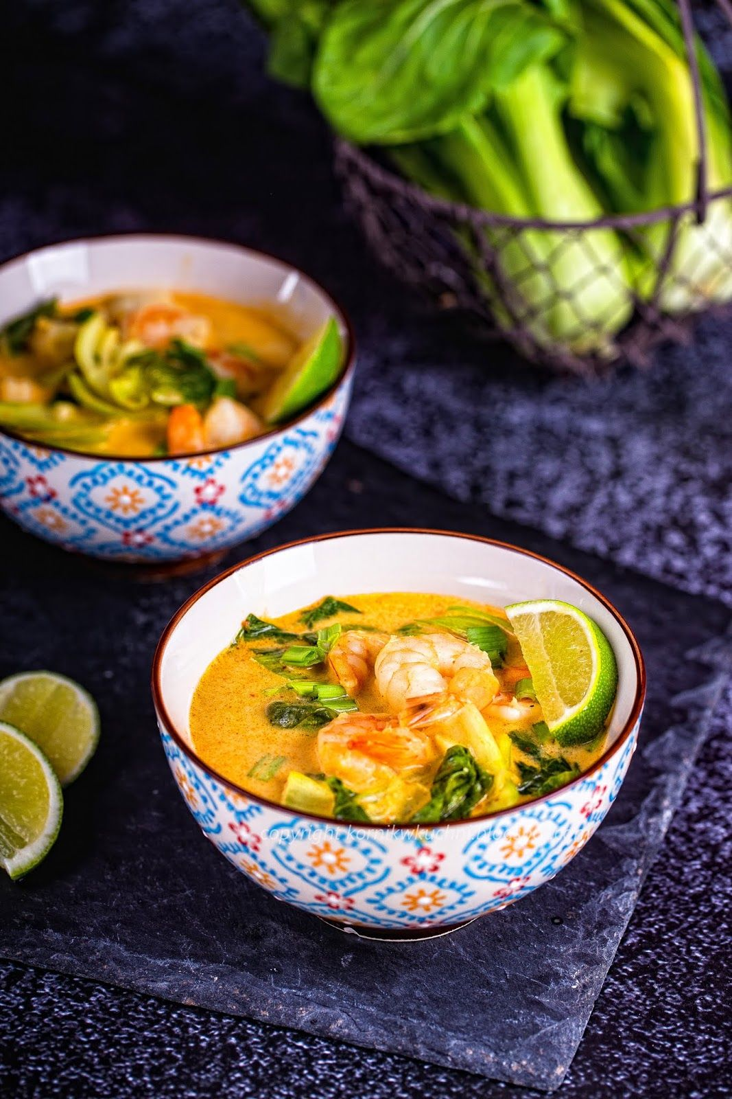 Zupa Tajska Z Krewetkami Asian Recipes Delicious Soup Food