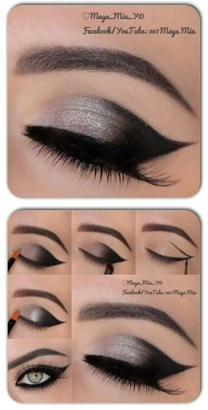Oh la la. Pretty eyeshadow look. - #Eyeshadow #la #Pretty #schminke #eyeshadowlooks