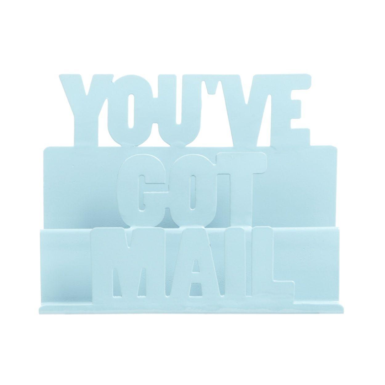 Ben de Lisi Home Designer blue \'You\'ve got mail\' holder- at ...