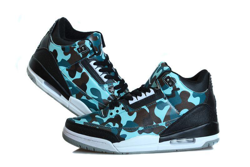 Nike Air Jordan 3 Soldiers Camouflage