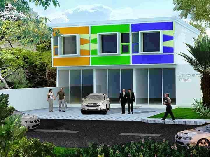 Desain Rumah Minimalis Ruko Minimalis 2 Lantai   Rumah Muria