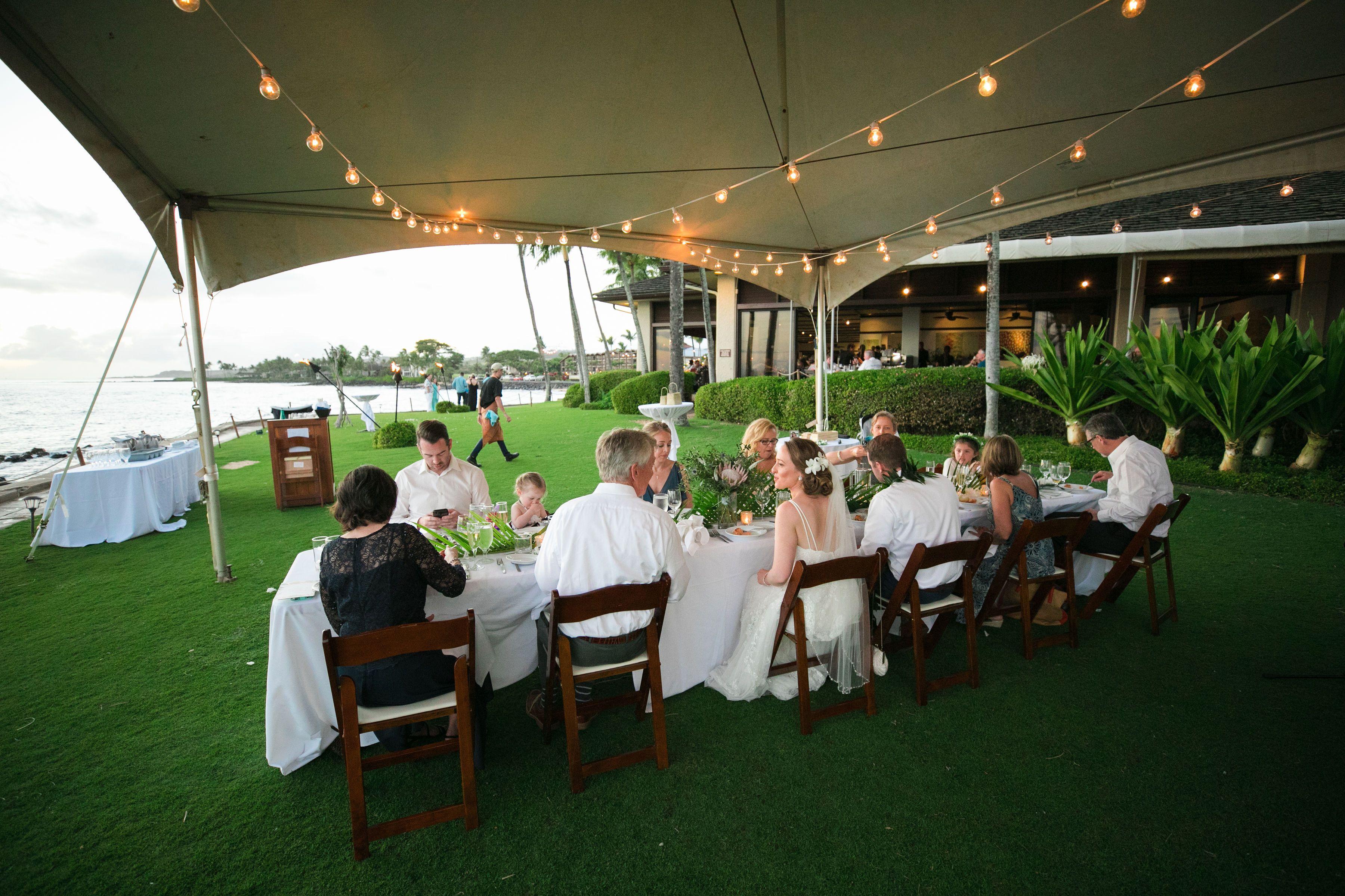 Wedding Reception At The Beach House Kauai Beach House Kauai Beach House Restaurant Oceanfront Wedding