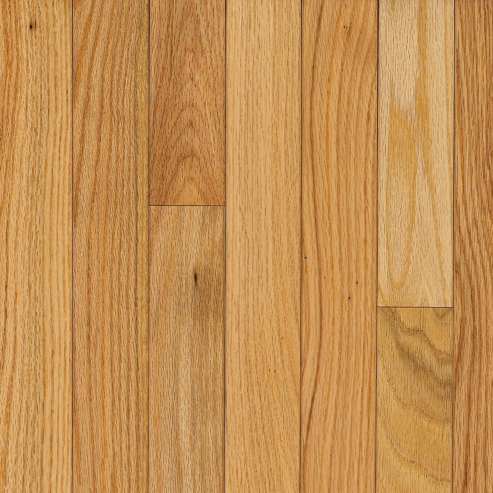 Bruce Ao Oak Natural 3 4 Inch Thick X 2 1 4 Inch W Hardwood Flooring 20 Sq Ft Case Solid Hardwood Floors Bruce Flooring Hardwood Floors