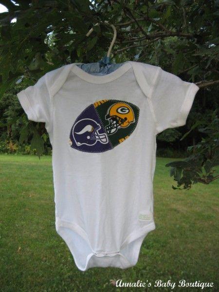 Packers Vikes Onesie