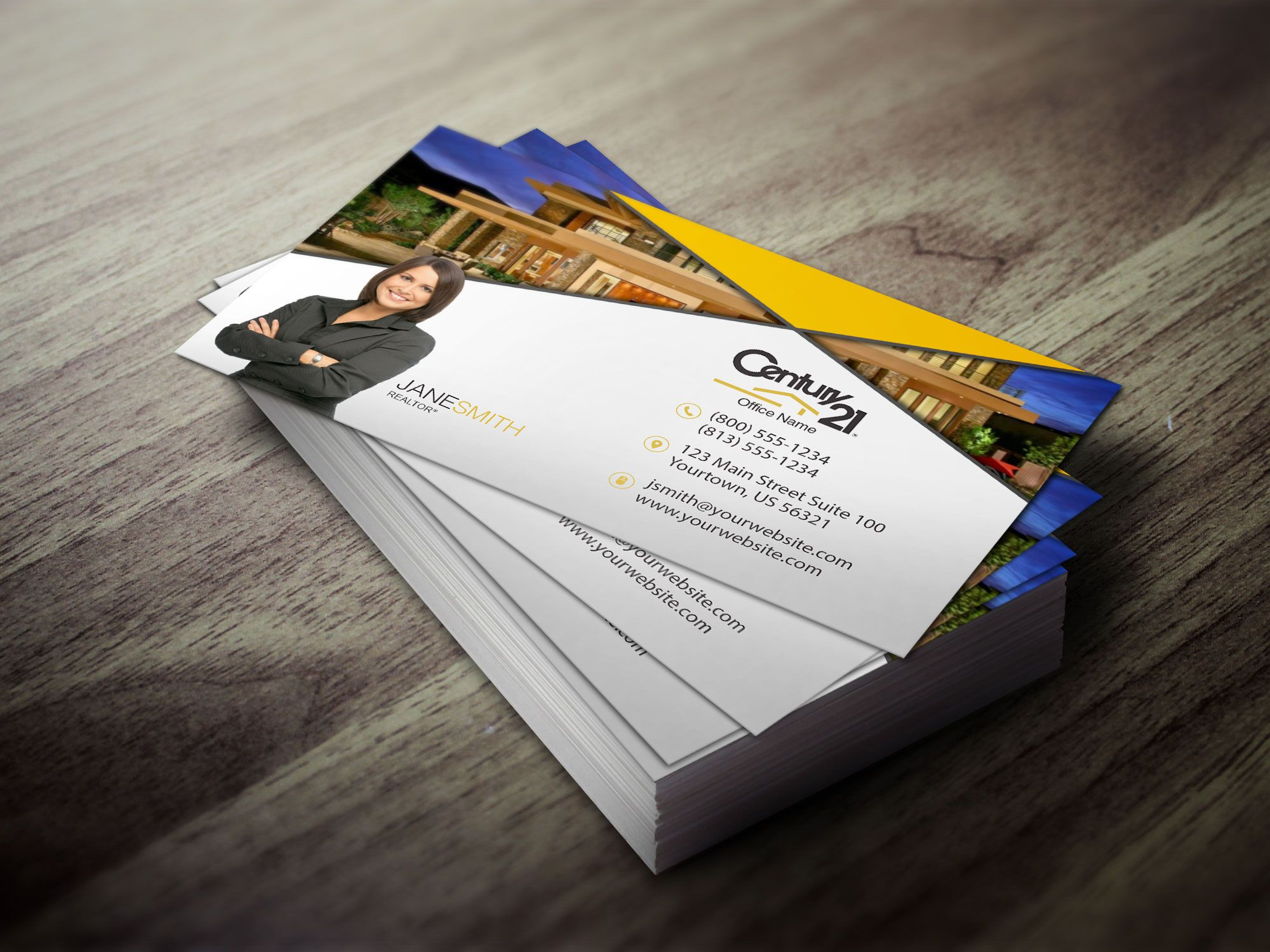 Clean business card design for Century 21 | 2017 Century 21 Designs ...