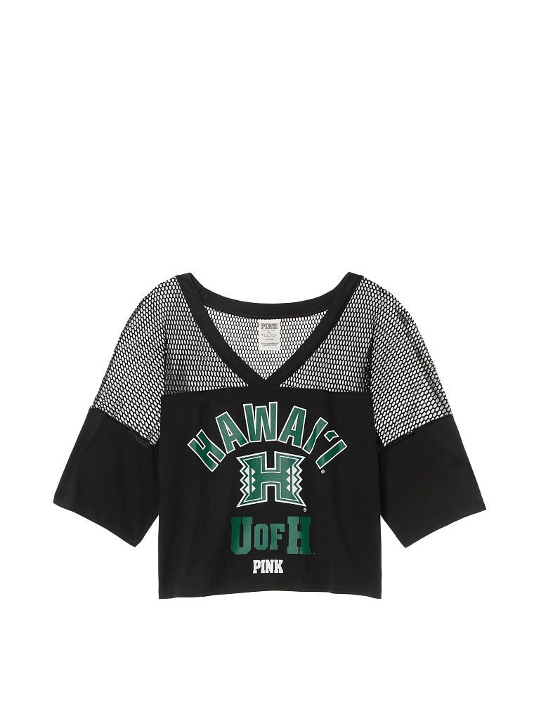 8103515ed061bf University of Hawaii Athletic Mesh Tee - PINK - Victoria's Secret ...
