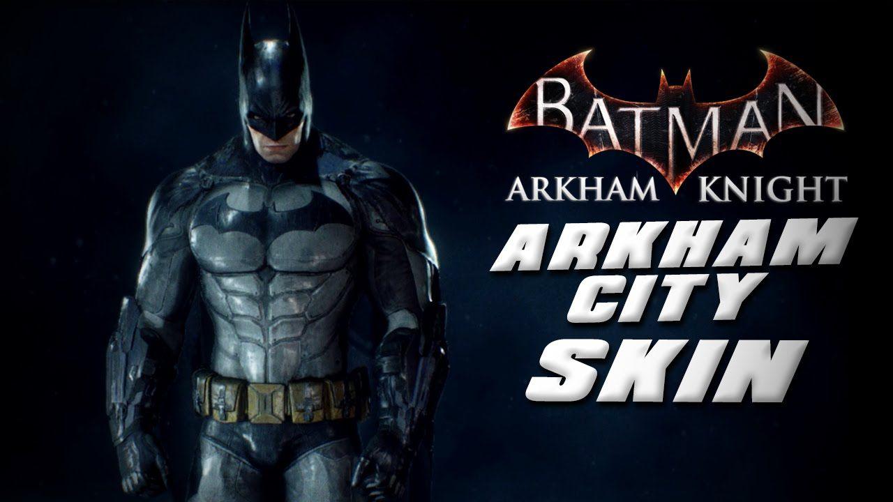 Batman Arkahm Knight Arkham City Skin Gameplay Hd With Images