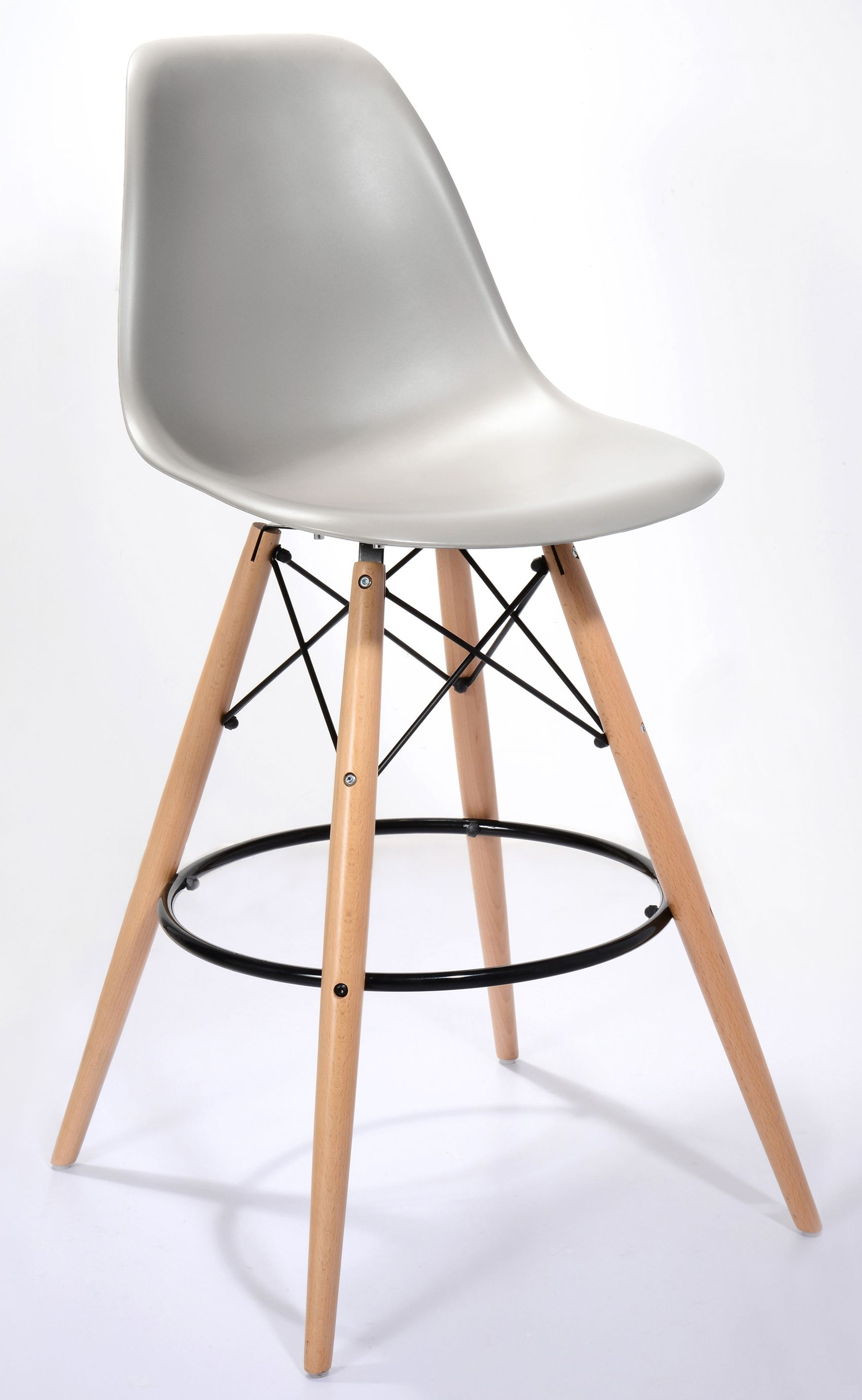 Eames Style Bar Stool in 2020 Bar stools, Kitchen stools
