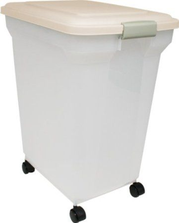 Amazon Com Iris Premium Airtight Pet Food Storage Container 55
