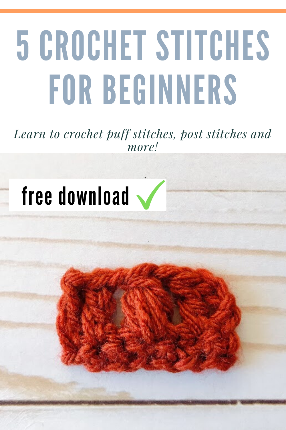 5 Crochet Stitches For Beginners In 2020 Crochet Stitches For Beginners Crochet Stitches Free Crochet Stitches