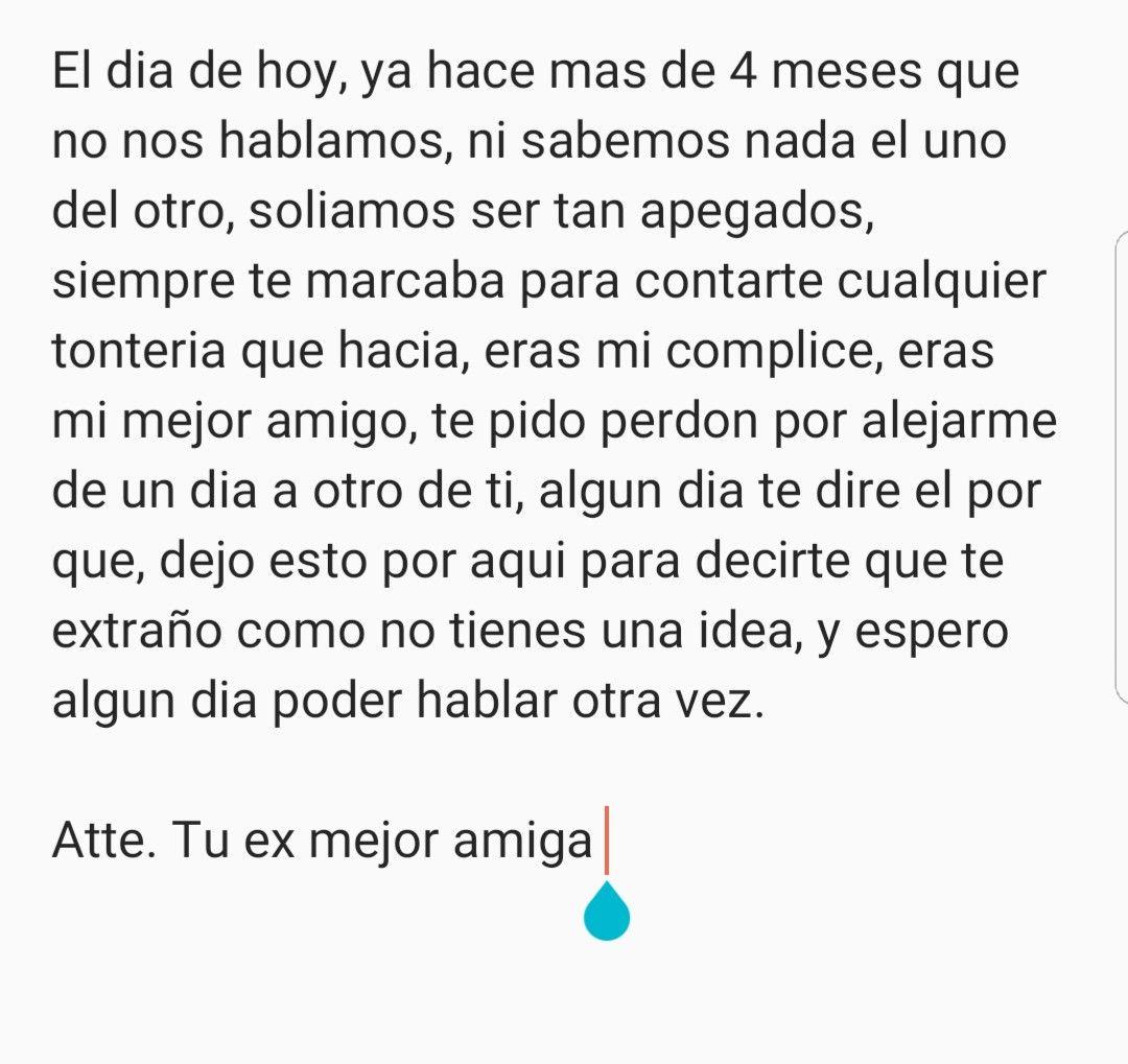 Querido Ex Mejor Amigo Ex Mejor Amigo Frases De Ex Amigas