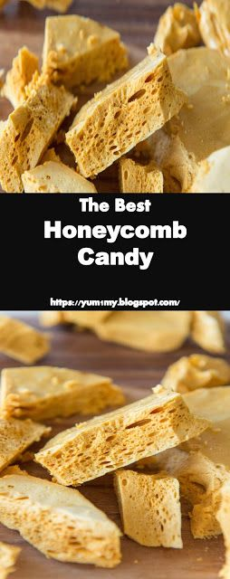 #Best #Recipe and #Yummy  Honeycomb #Candy - >1< #Yummy #Recipes #honeycombcandy