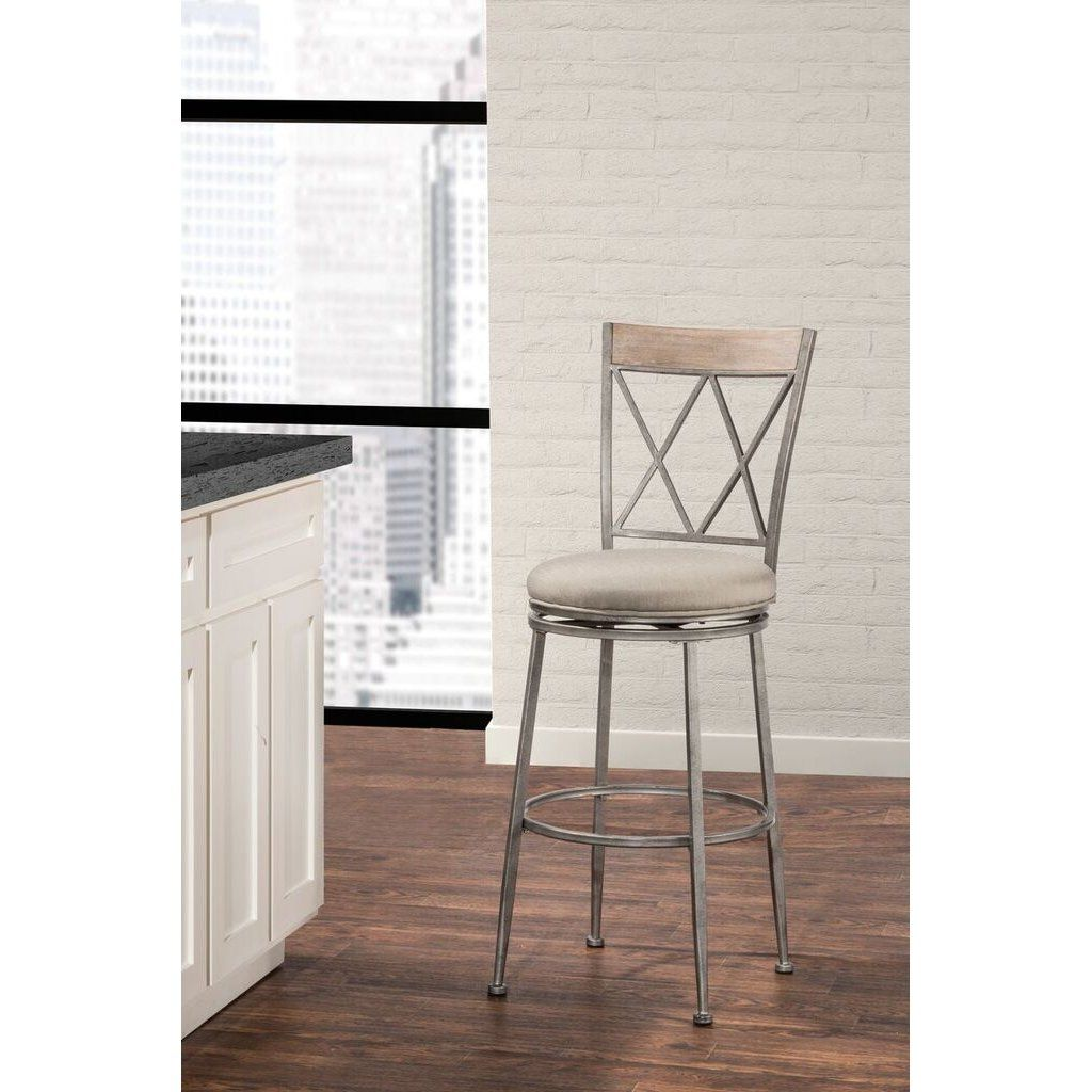 Indoor Outdoor Swivel Counter Height Stool Stewart