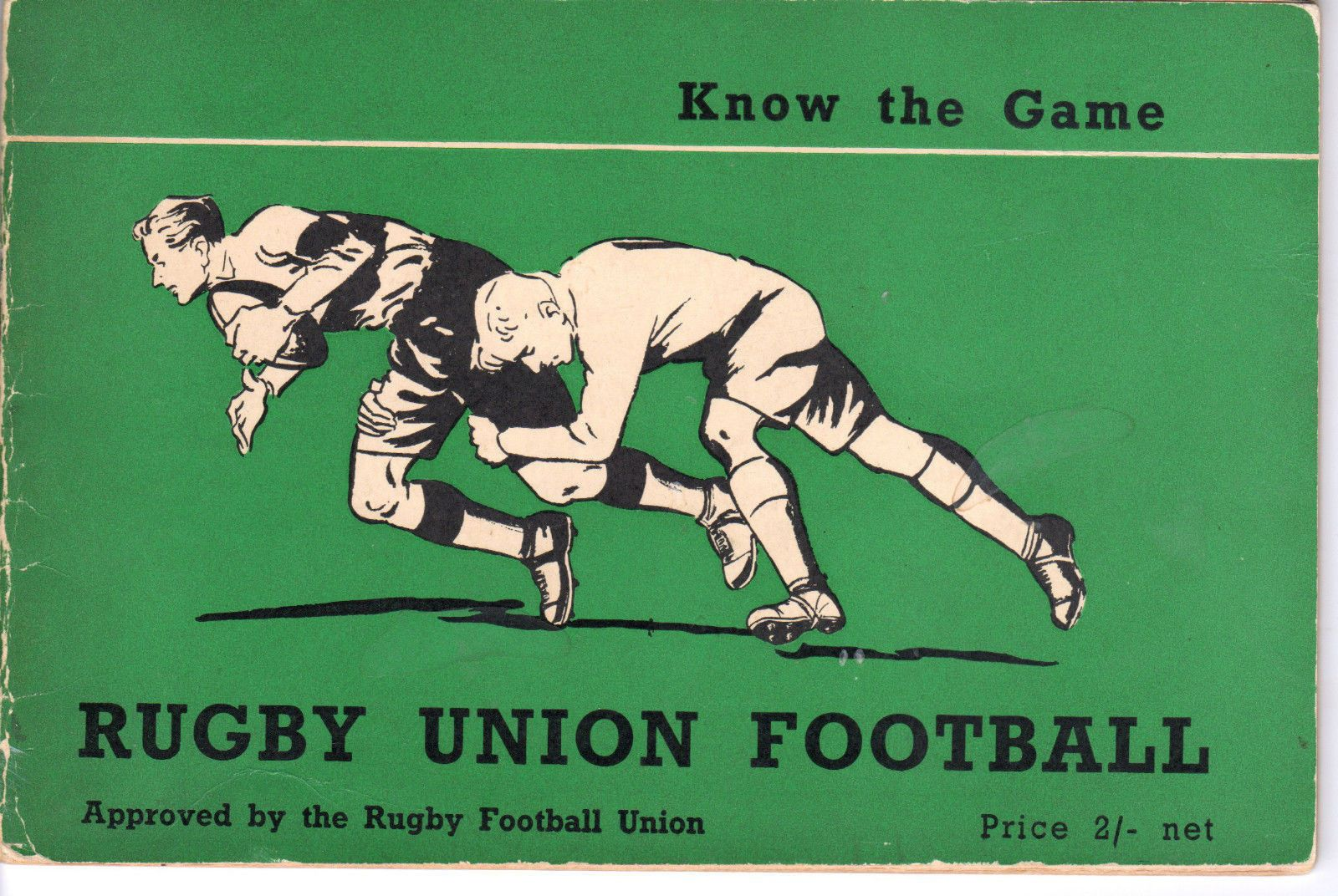 Know The Game - Rugby Union Football 1954 2310E   eBay
