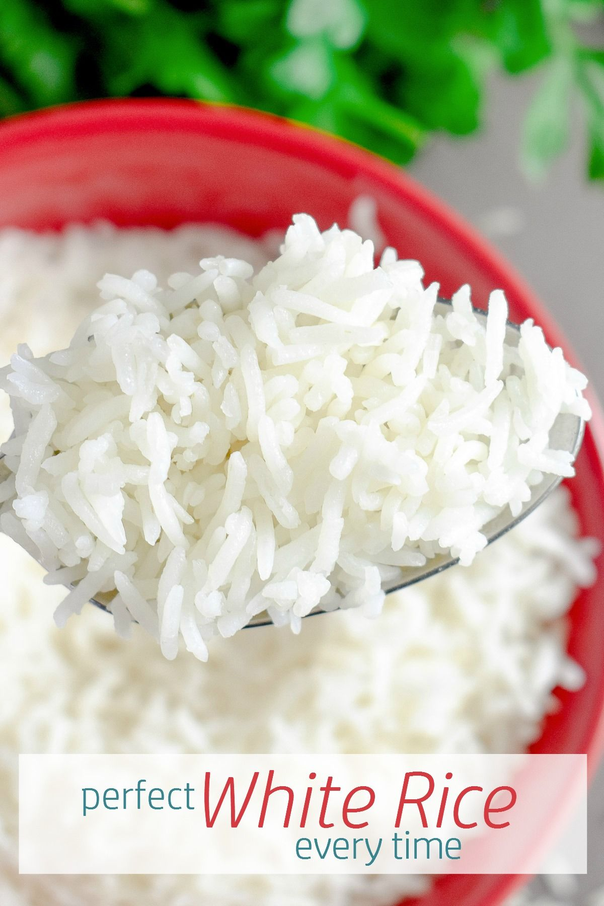 Perfect White Rice Every Time