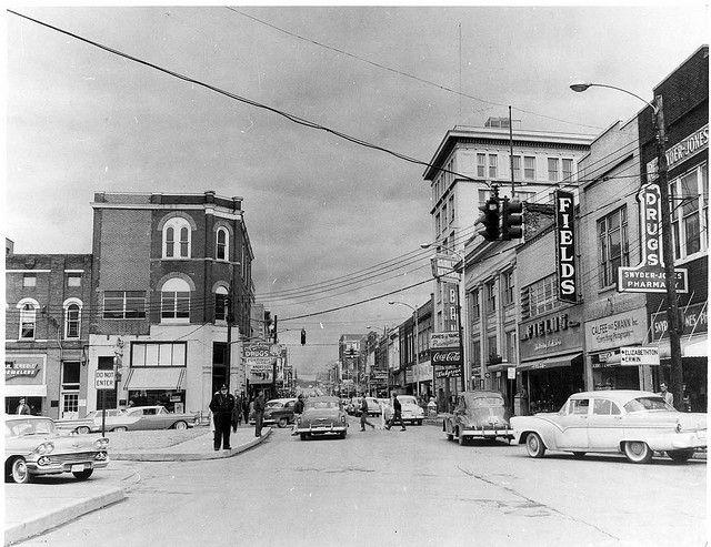 Main Street 1958 Johnson City Tennessee Johnson City East Tennessee