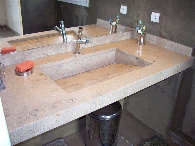 Plan Travail Marbre Granit Quartz Pierre Calcaire Salles Bain Millau