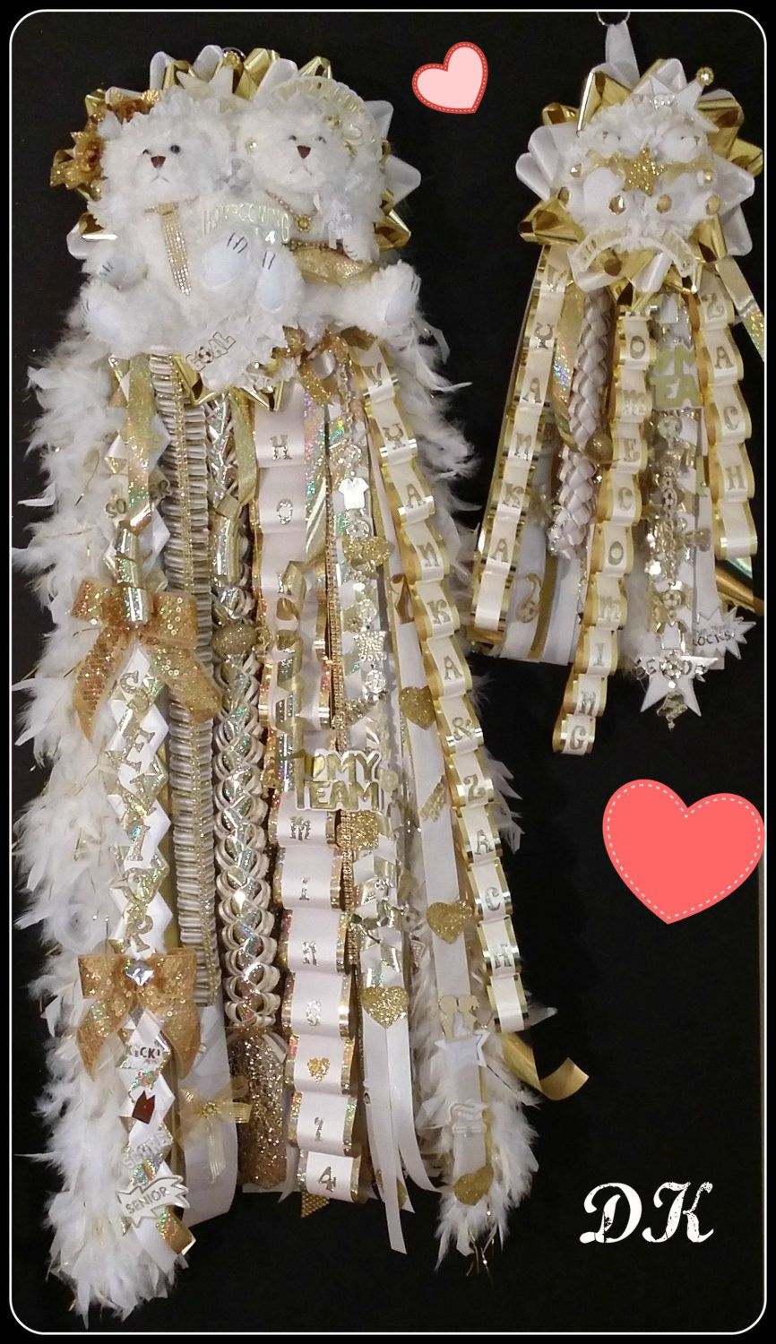 Sweethearts Homecoming Mum Package by DKFloralsInc on Etsy #homecomingmumsdiy