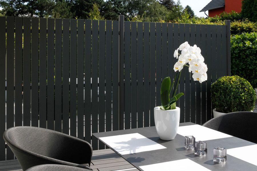 SQUADRA Sichtschutz Anthrazit Ideeën voor de tuin