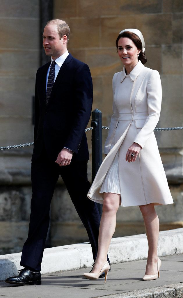 Kate Middleton Photos Photos: The Royal Family Attend Easter Day ...