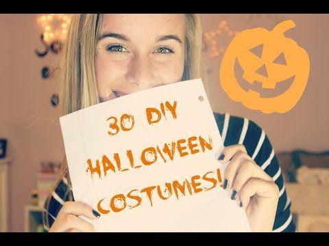 30 easy diy halloween costume ideas youtube
