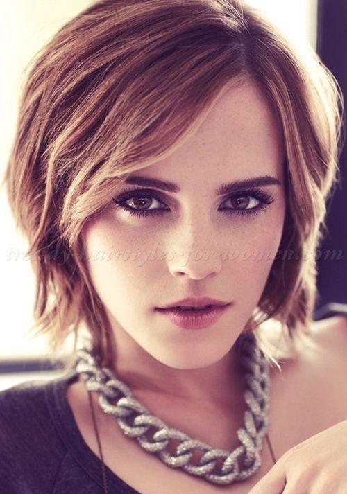 Bob Hairstyles Bob Haircut Short Hairstyles 2015 Emma Watson Bob