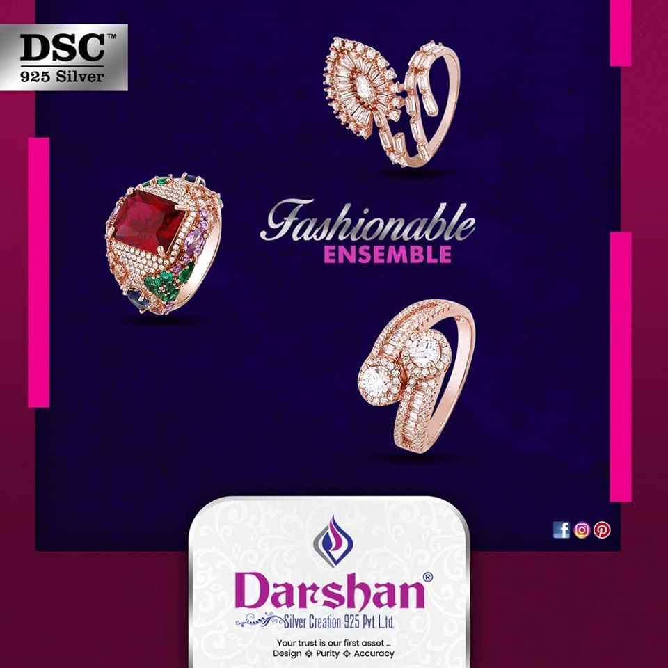 The Rebellious Exquisite 925 Rose Gold Rings Download Darshan Silver Creations Dsc Exclusive Mobile Application Silver Jewellery Indian 925 Silver Silver