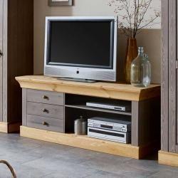 Photo of Tv Regal aus Kiefer Massivholz Landhausstil Life MeublesLife Meubles