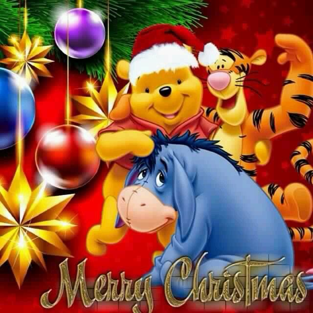3 merry christmas 3 pooh bear pinterest eeyore and pooh bear