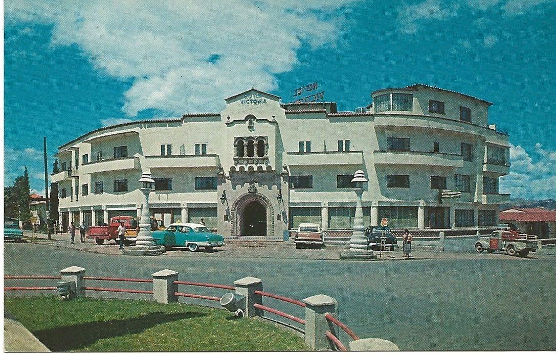 Hotel Victoria Chihuahua Mexico C 1950s
