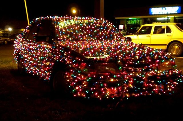 christmas lights pictures | Christmas lights on a used car - Christmas Lights Pictures Christmas Lights On A Used Car