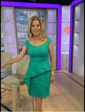 Kay Unger dress.