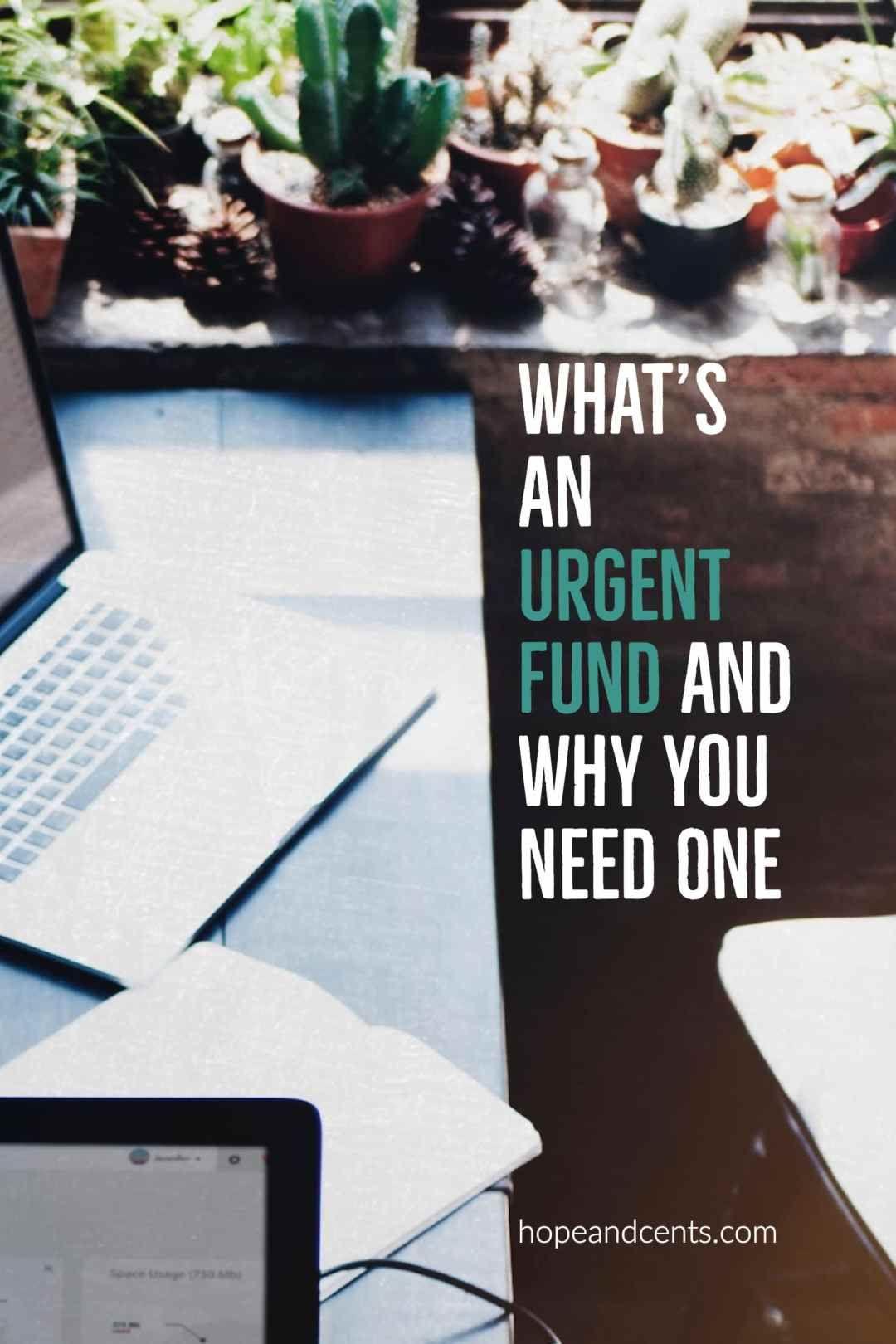 Unplanned expenses emergency fund