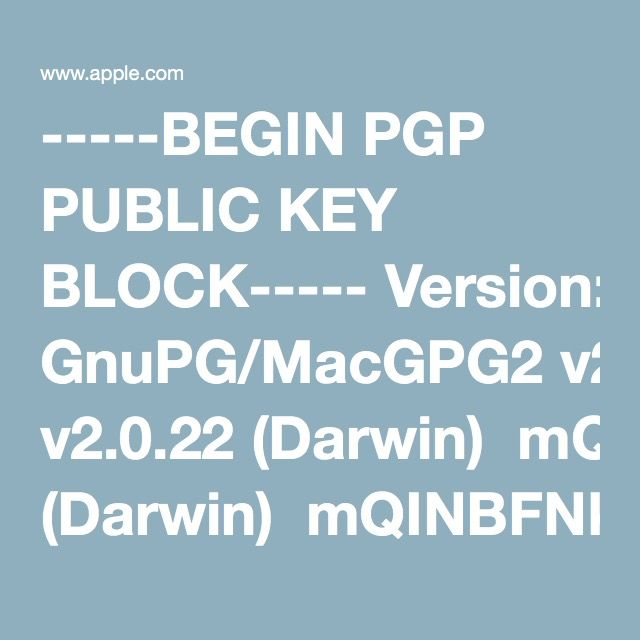 Protecting Security Information   PGP