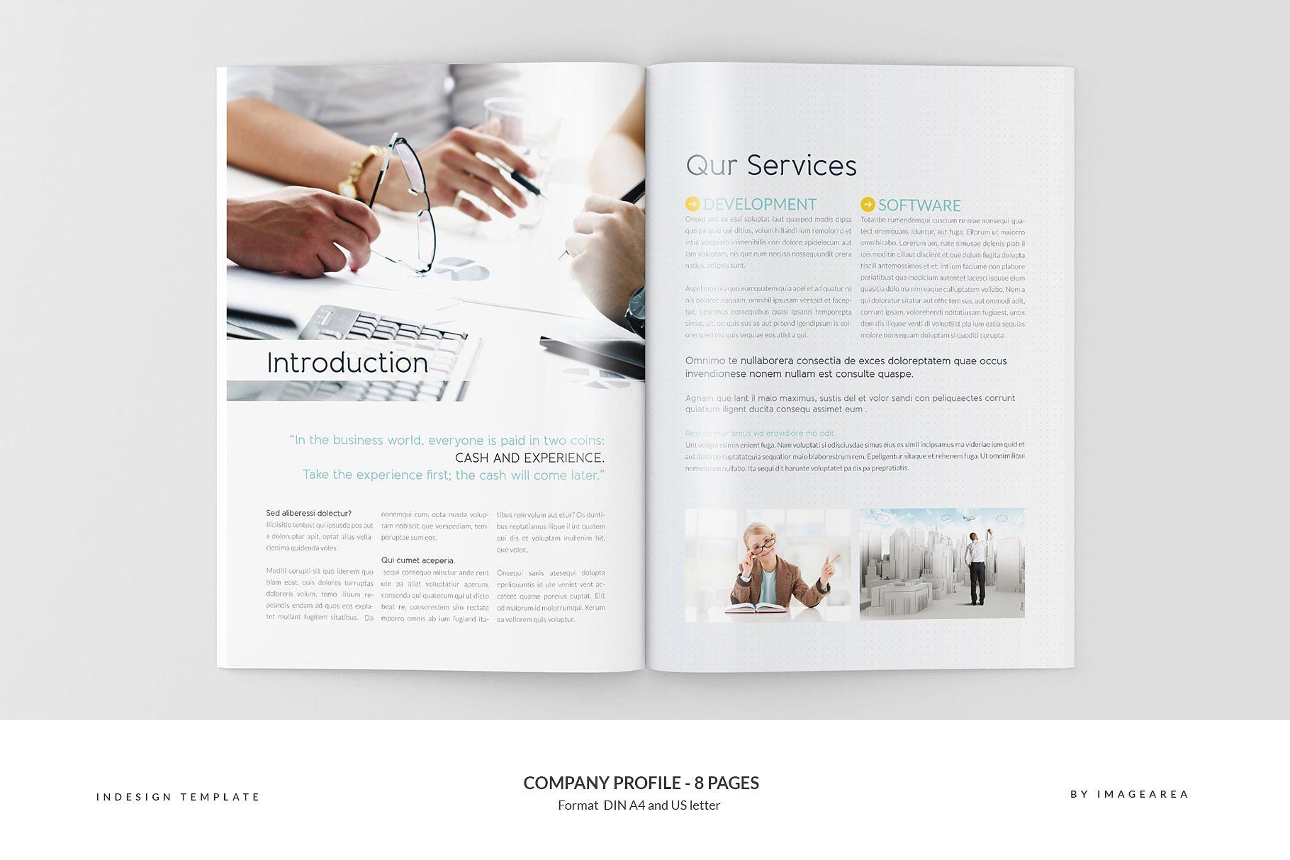 company profile 8 pages profile company pages templates flyer