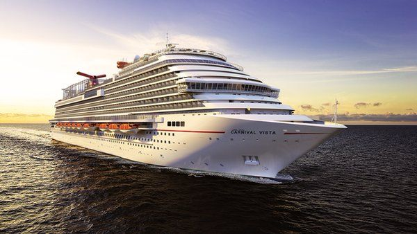 Carnival  Cruise Vista's Progress