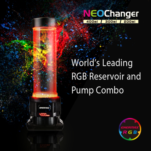 Enermax Rgb Neochanger Pc Water Cooling Pump Reservoir Giveaway Ifttt Reddit Giveaways Freebies Contests Rgb Led Lights Giveaway Contest Led Color