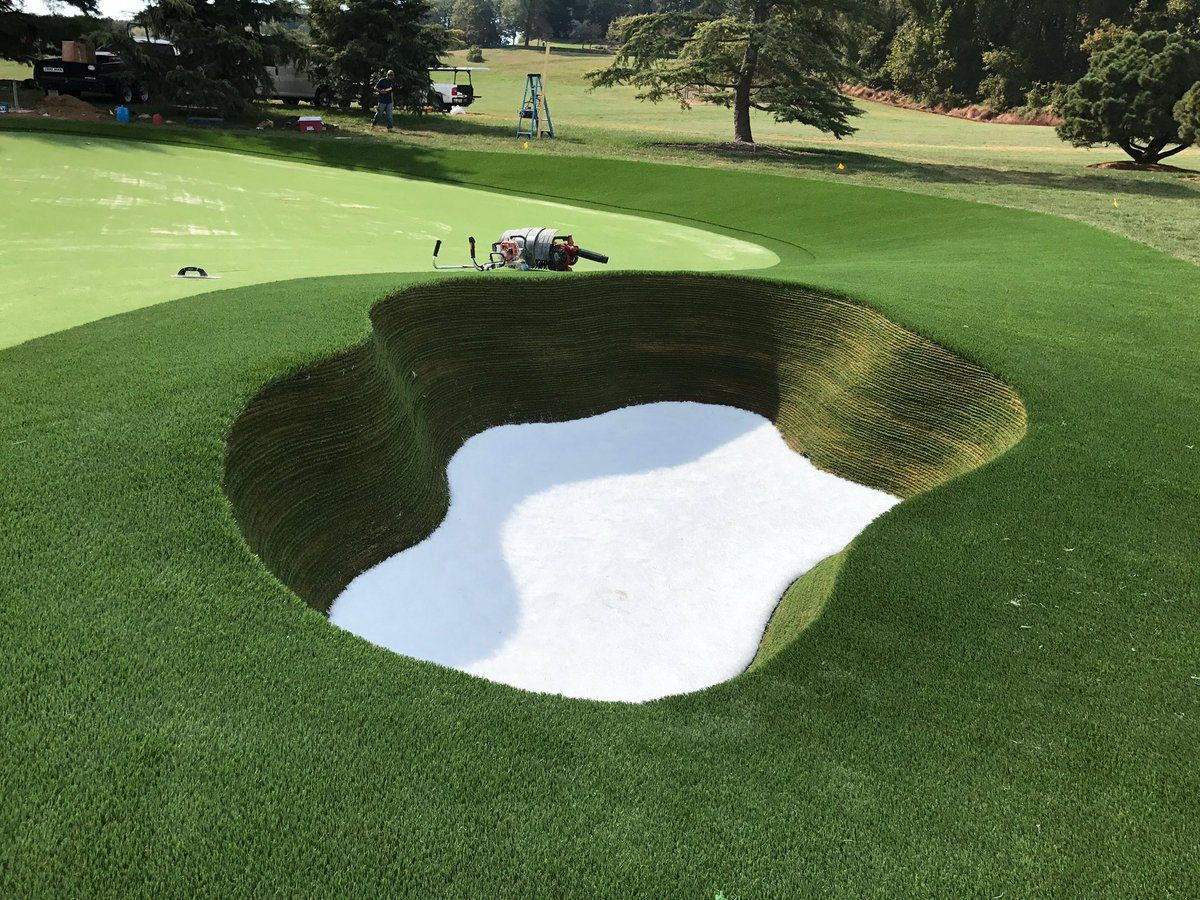 So Happy With How This Scottish Bunker Turned Out Golf Design Golf Courses Golf