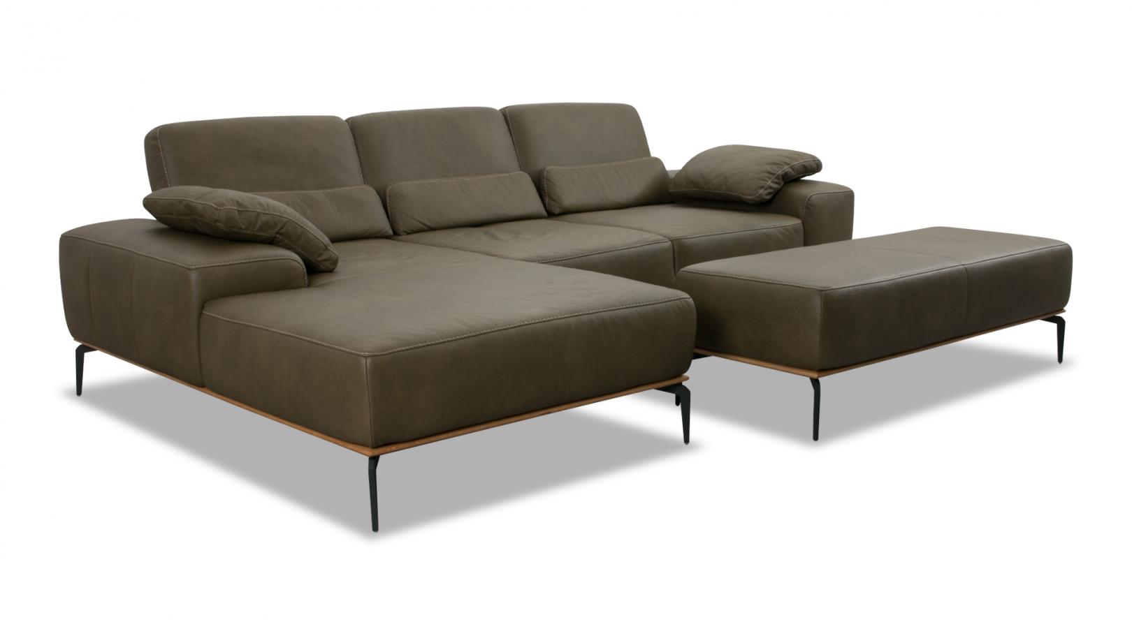 W Schillig Sofa Leder