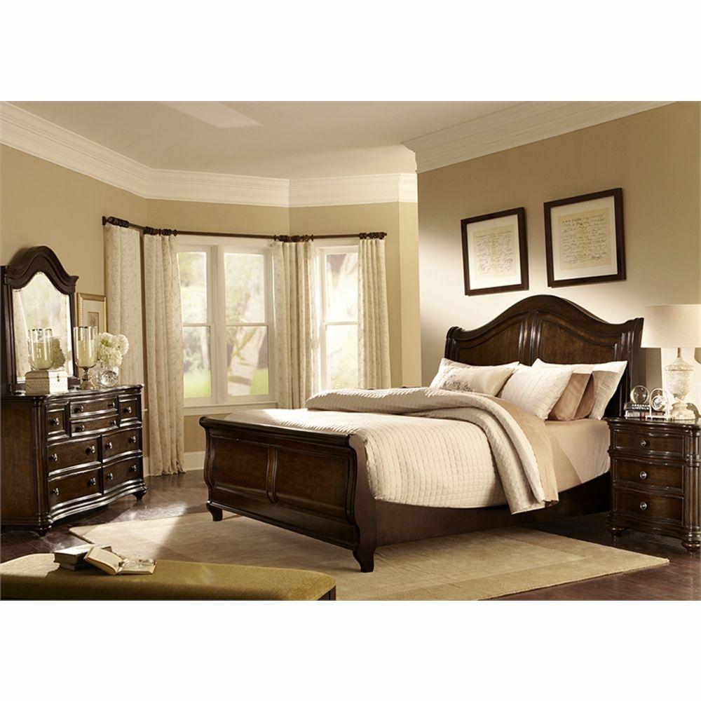liberty furniture kingston plantation 4 piece king sleigh bed dresser u0026 mirror night
