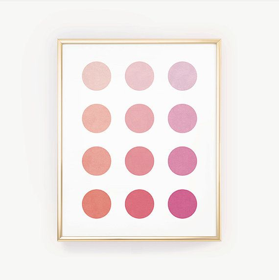 Circle Print, Coral Art Print, Peach Bedroom Art, Pink Dorm Poster, Instant, Pink Wall Art, Printabl is part of bedroom Art Printables - DIGITAL DOWNLOAD  Printable ArtModern and feminine, this is a beautiful ombre printable with twelve circles in peach, coral, and pink colors Files you will receive ♦  4  x 6  PDF (set up on an 8 5  x 11  sheet, with trim guides)♦  5  x 7  PDF (set up on an 8 5  x 11  sheet, with trim guides)♦  8  x 10  PDF  (set up on an 8 5  x 11  sheet, with trim guides)♦  11  x 14  PDF (set up on an 11  x 17  sheet, with trim guides)♦  18  x 24  JPGEach file is high resolution and comes ready to print  Please message me before ordering if you would like a different size Please note♦  This listing is for a set of DIGITAL FILES only  you will not receive a physical print in the mail  ♦  Printed colors may vary slightly from what you see on your screen  Different monitors tend to display colors a bit differently ♦  The prints will look best if they are printed on a highend printer  Have your files printed by a professional printing service for best results!♦  I want to make sure every customer is happy with their purchase! If you have ANY problems with a print you've received, please send me a message and allow me the chance to fix your issues before leaving a rating or feedback Instructions♦  Add this listing to your cart  When you are ready to check out, go to your cart and pay for your orders ♦  Once your payment is confirmed, you will be taken to a download page  An email with a link to your purchased files will also be emailed to you ♦  Download, save, and print!Any questions  Please check my FAQ at the bottom of this page, or send me a message PERSONAL USE ONLY You can print these designs for yourself or to use as gifts You MAY NOT sell, share, redistribute, replicate, or use these files or designs, in whole or part, in any capacity  this includes sharing the files, or using them in any commercial or selfpromotional capacity The purchase of these files does not transfer any copyrights or licenses © Aeva PrintsAll rights reserved